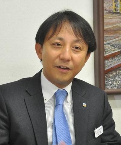 しなの鉄道の玉木淳社長(東洋経済)