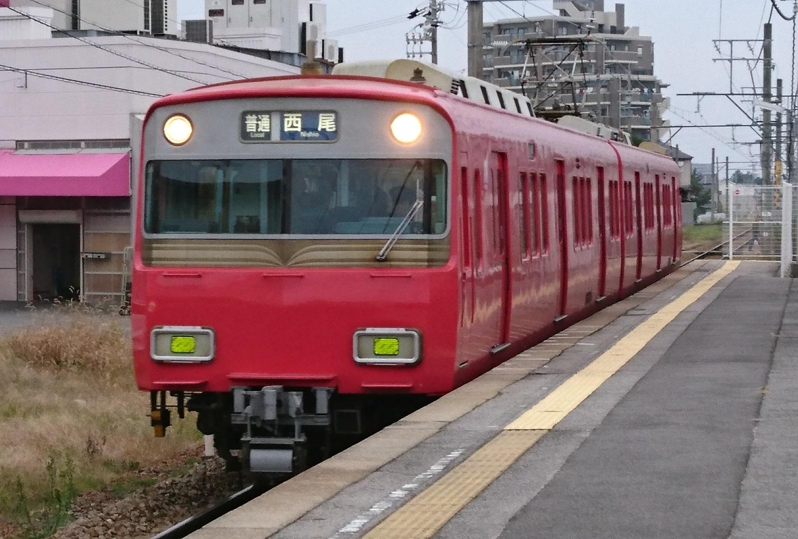 2016.12.4 (2) 古井 - 西尾いきふつう(6804)1600-1080