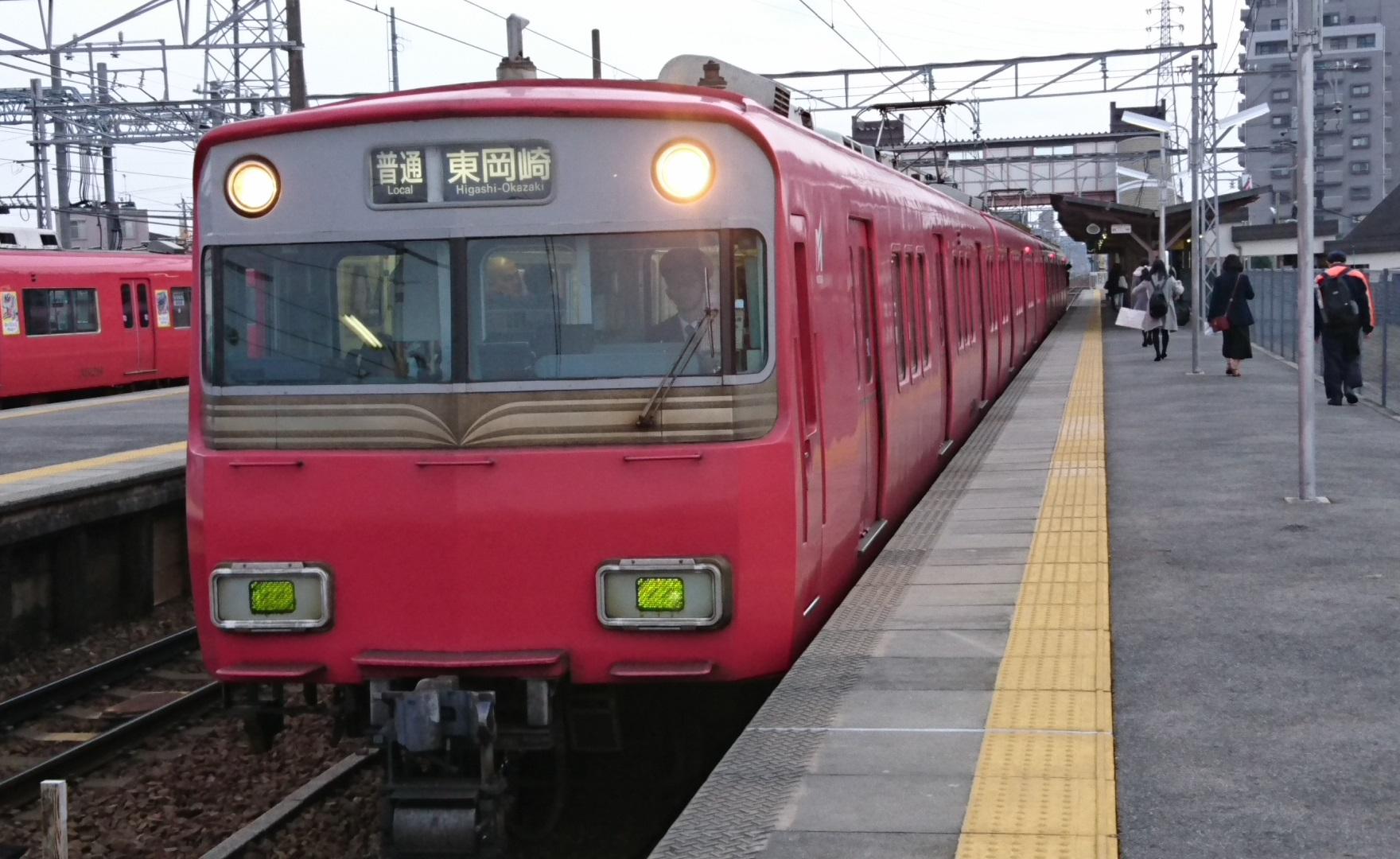 2016.12.4 (5) 矢作橋 - 東岡崎いきふつう(6410)1760-1080