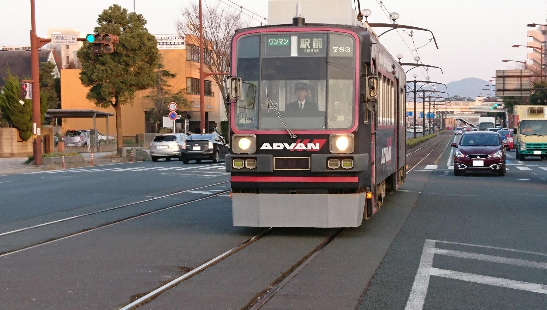 2016.12.9 豊橋 (22) 電車どおり - 783 1800-1020