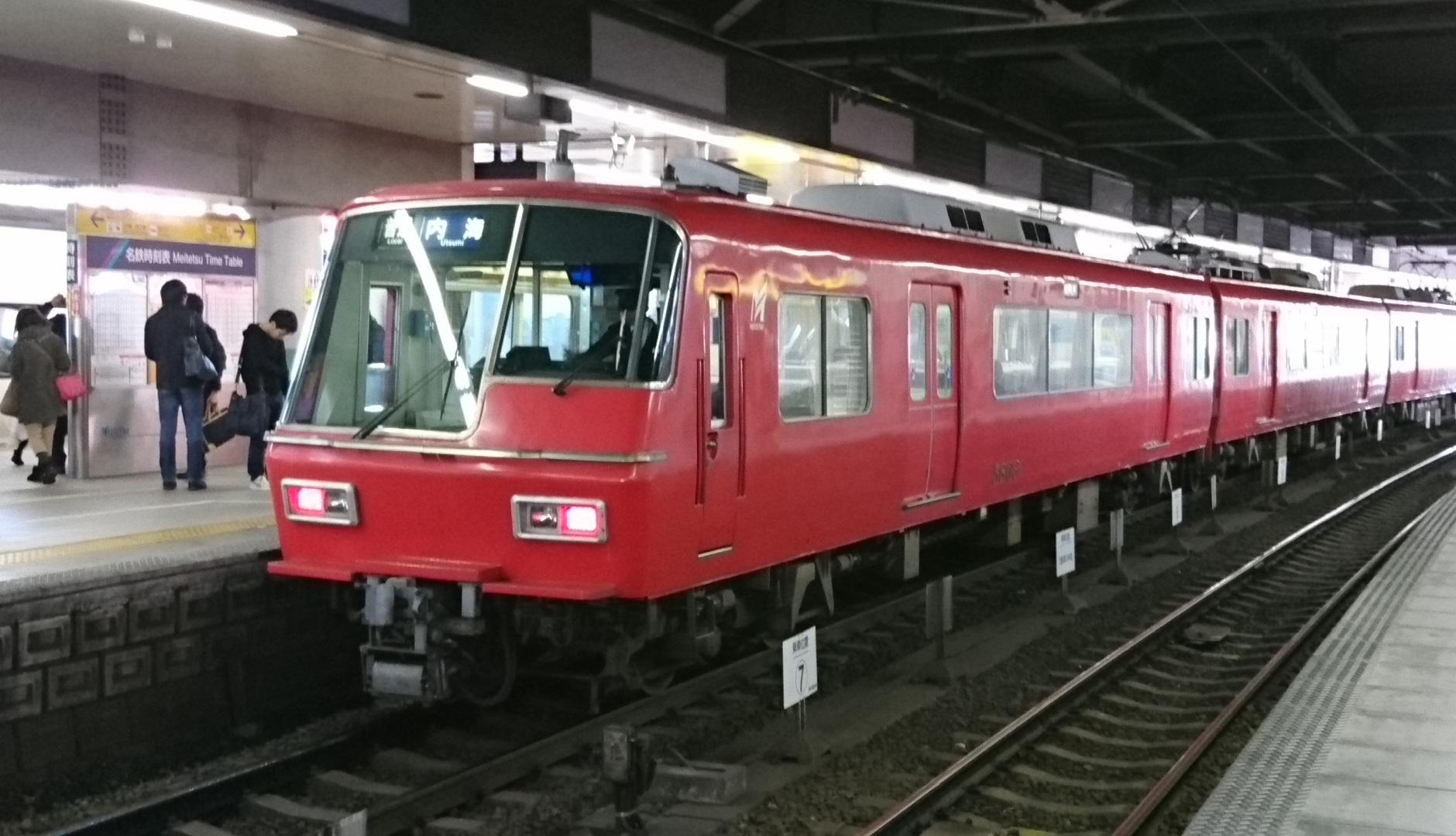2016.12.10 名古屋本線 (30) 金山 - 内海いきふつう 1880-1080