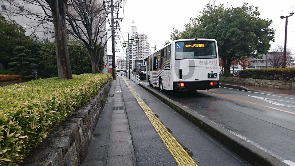 2016.12.13 あさ (4) 市役所・文化センターバス停 960-540