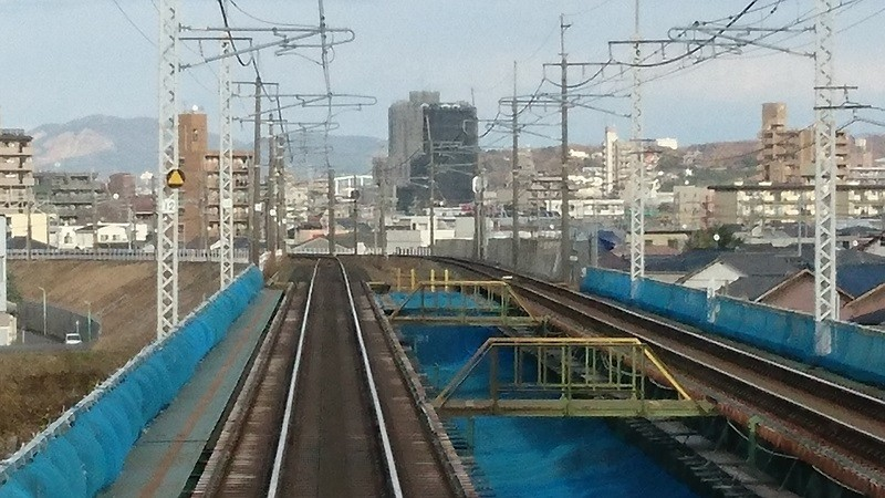 2016.12.14 中央線 (7) 瑞浪いき快速 - 矢田川をわたる