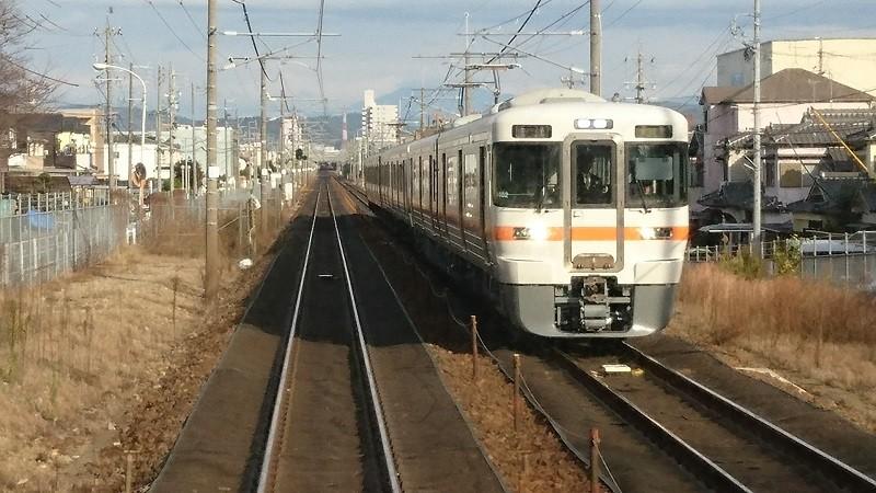 2016.12.14 中央線 (14) 瑞浪いき快速 - 勝川-春日井間