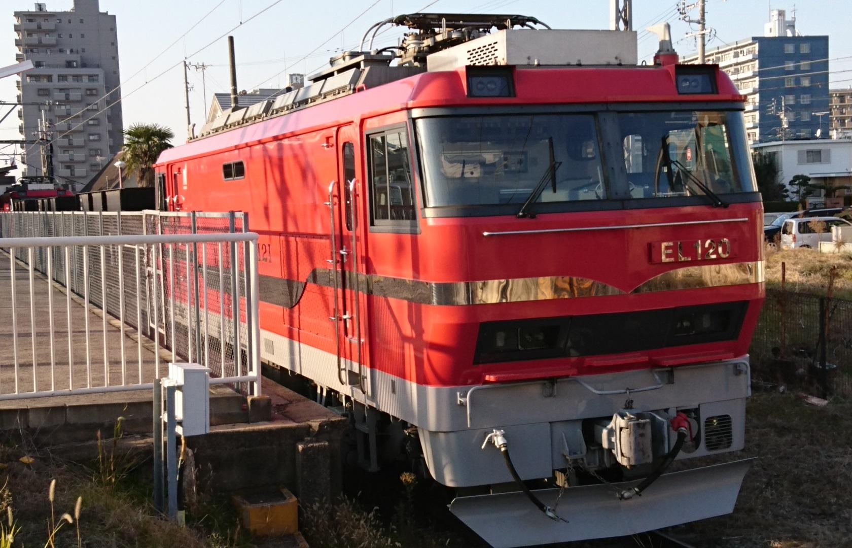 2016.12.18 名鉄 (12) 矢作橋 - 電気機関車EL120 1680-1080