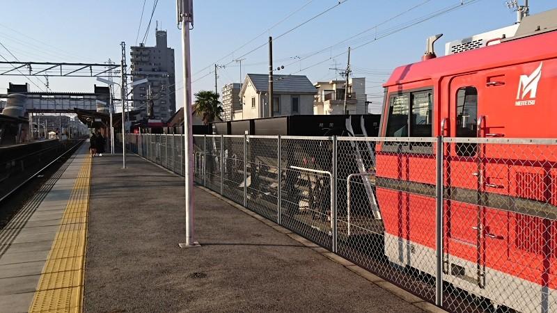 2016.12.18 名鉄 (13) 矢作橋 - 電気機関車と貨車 800-450