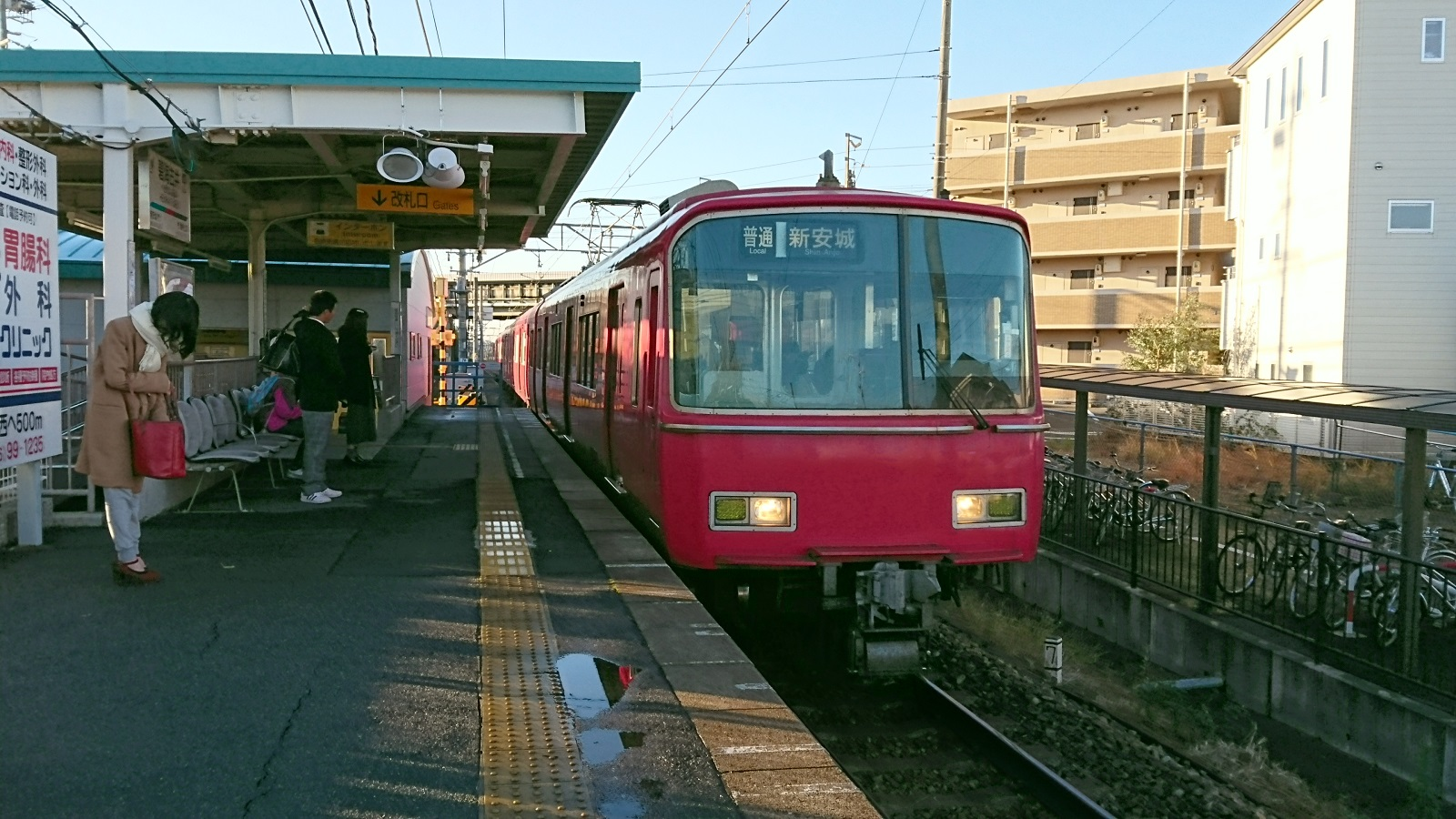 2016.12.23 井伊谷まで (1) 古井 - しんあんじょういきふつう 1600-900