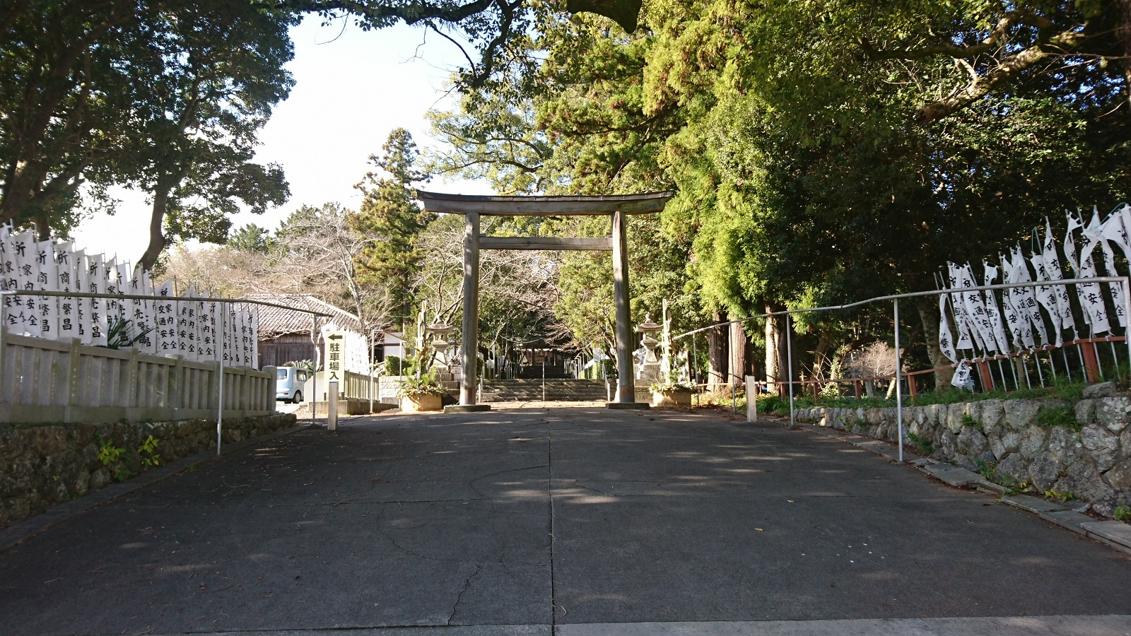 2016.12.23 井伊谷 (3) 井伊谷宮 - とりい 1600-900
