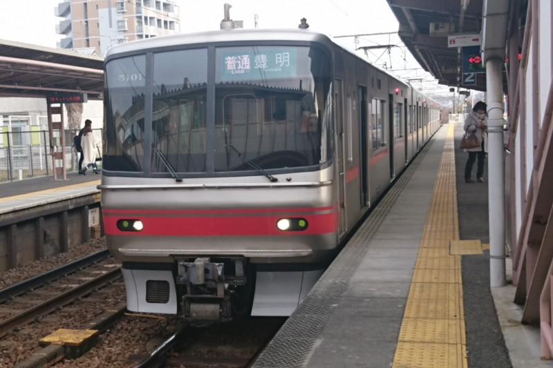 2016.12.26 名鉄 (5) 矢作橋 - 豊明いきふつう(5101)1620-1080