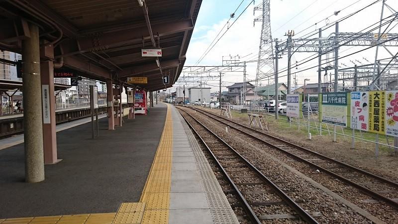 2016.12.26 名鉄 (8) 矢作橋 - 側線 800-450