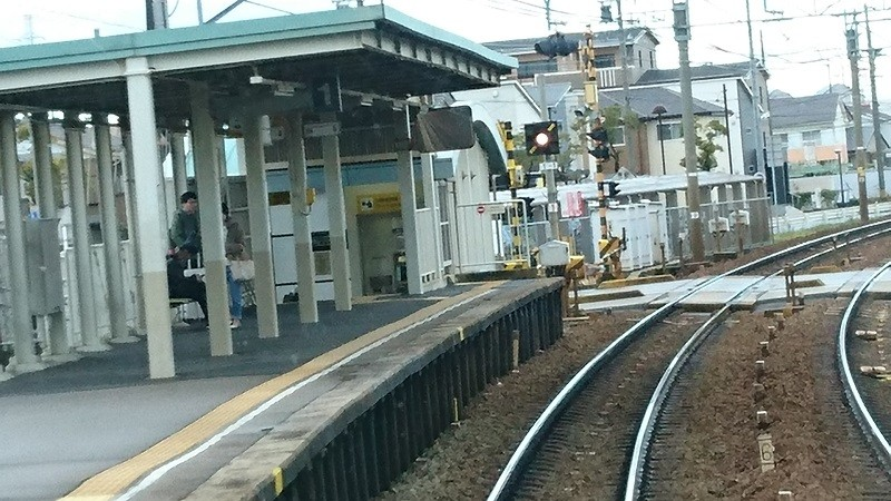 2016.12.27 神宮前まで (7) 一宮いき急行 - 一ツ木 800-450