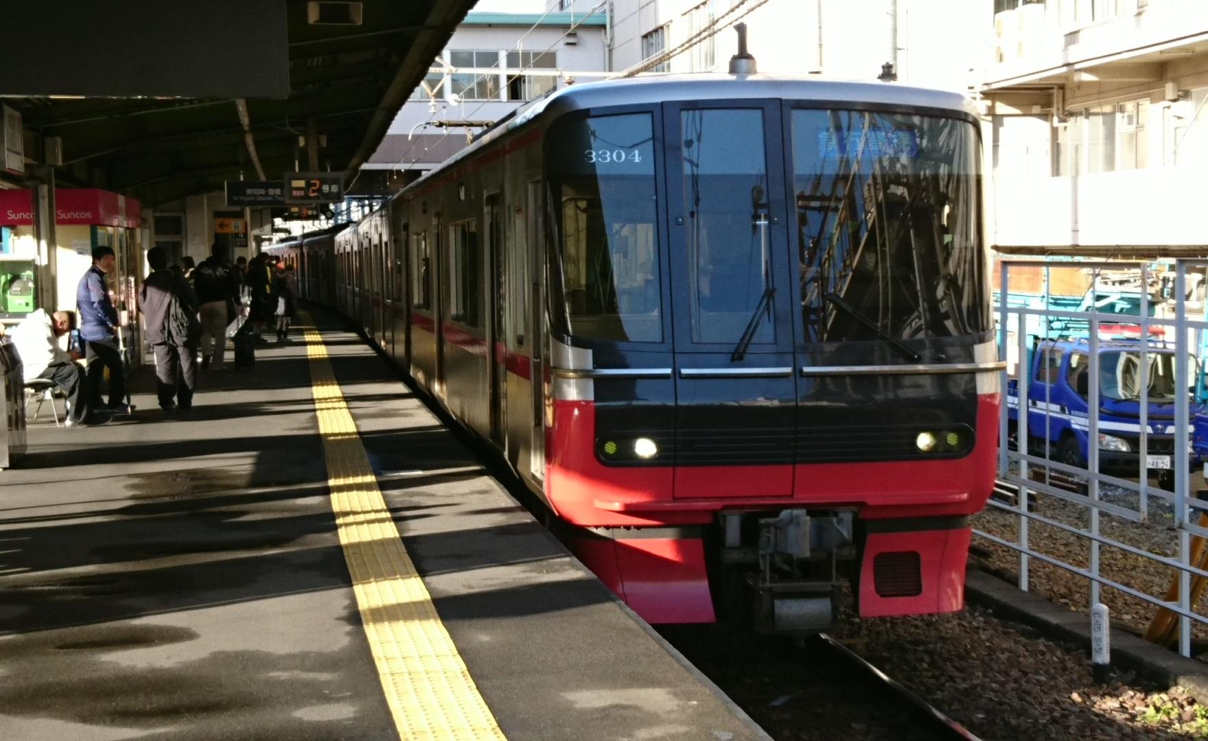 2016.12.27 東岡崎まで (2) 神宮前 - 豊橋いき急行(3304)1760-1080