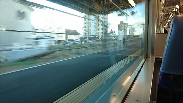 2016.12.27 東岡崎まで (4) 豊橋いき急行 - 矢作橋 640-360