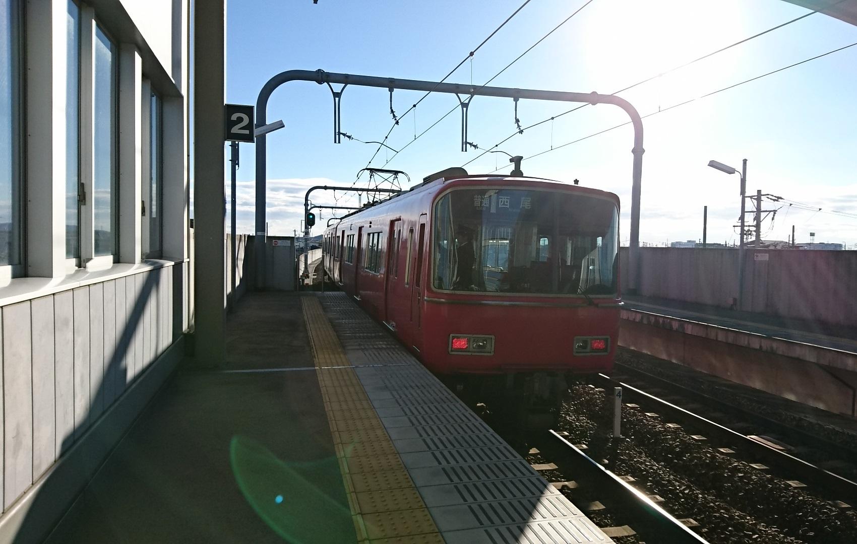2016.12.30 のりおさめ (3) 桜井 - 西尾いきふつう 1700-1080