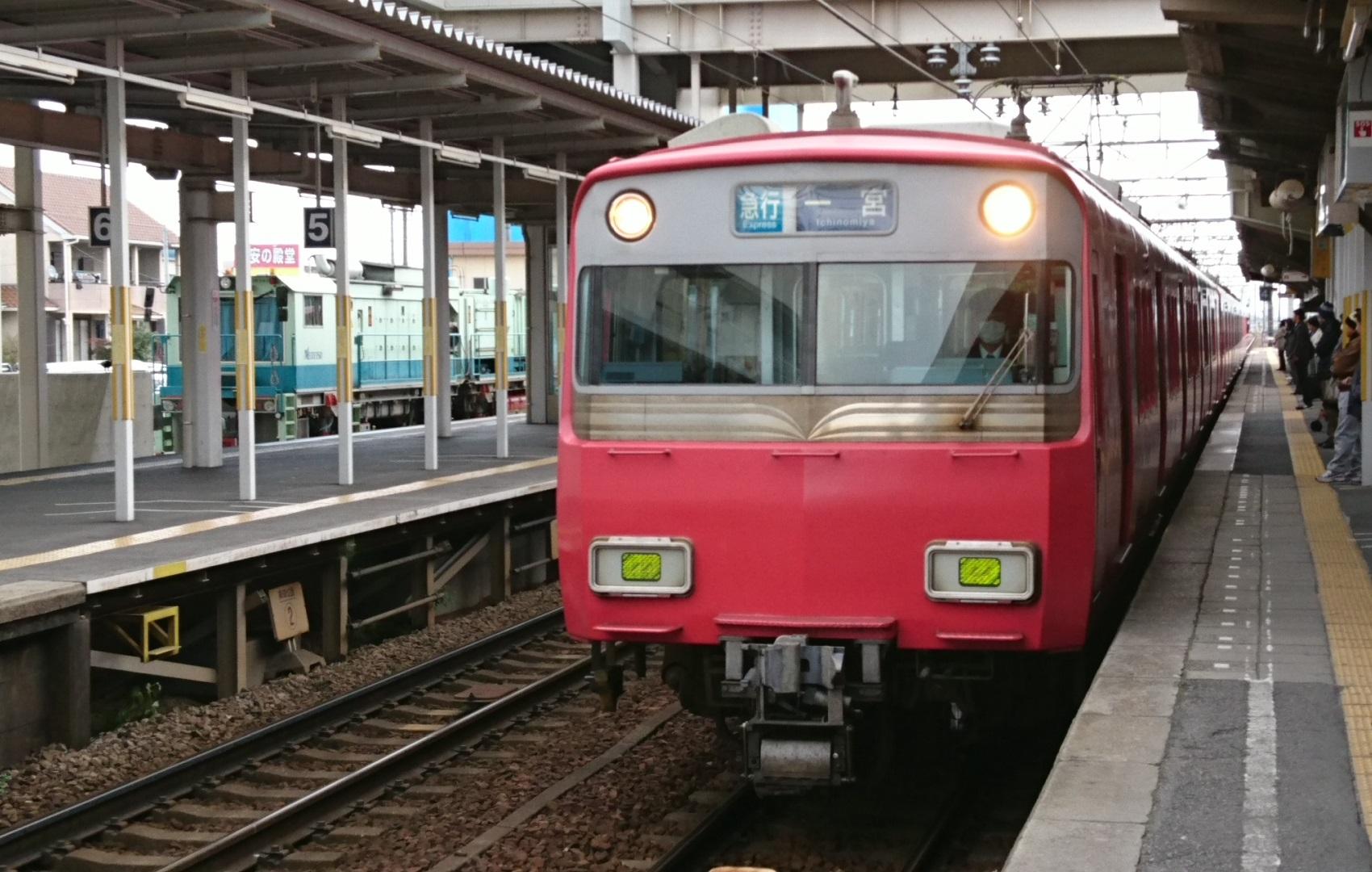 2017.1.3 岐阜まで (6) しんあんじょう - 一宮いき急行 1700-1080
