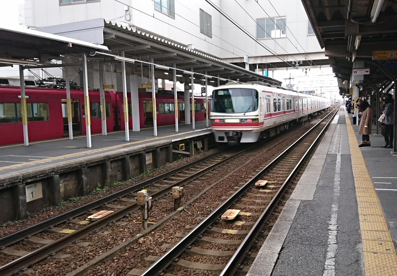 2017.1.3 岐阜まで (7) しんあんじょう - 豊橋いき快速特急 1550-1080