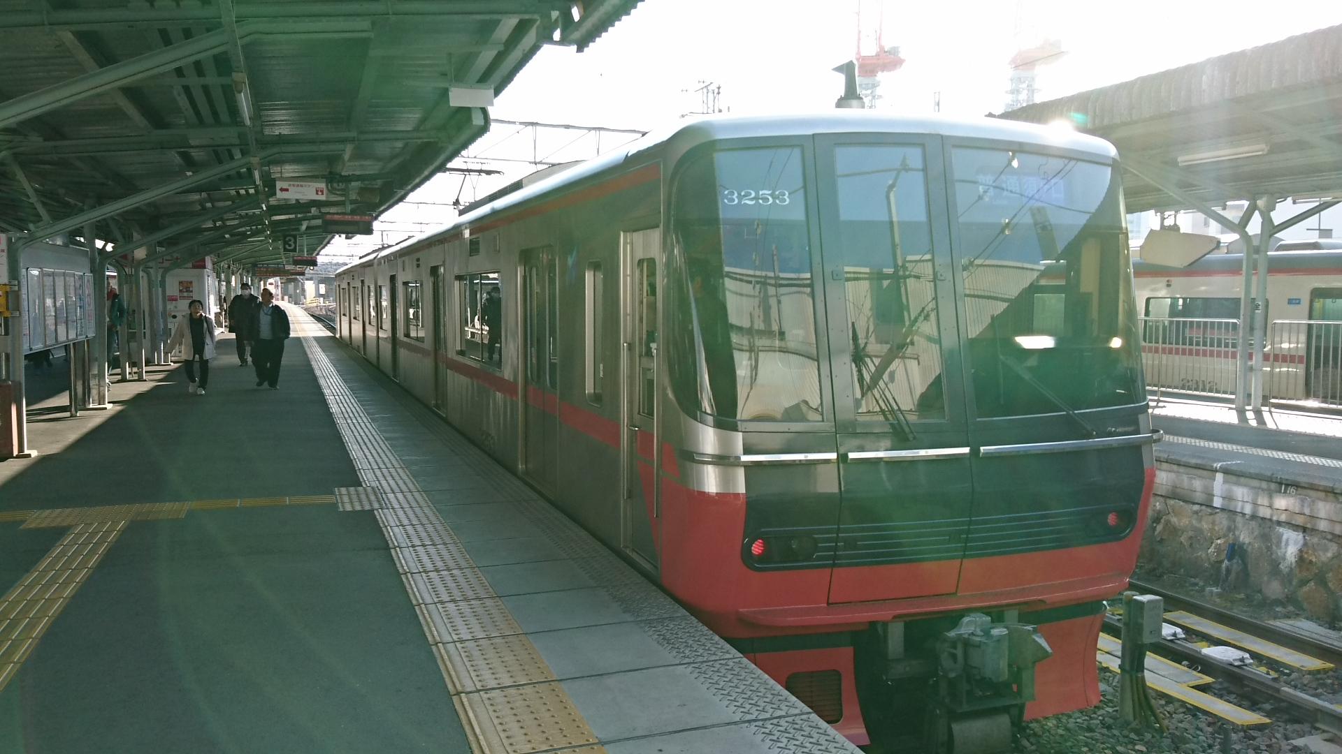2017.1.3 岐阜まで (39) 岐阜 - 須ヶ口いきふつう 1920-1080