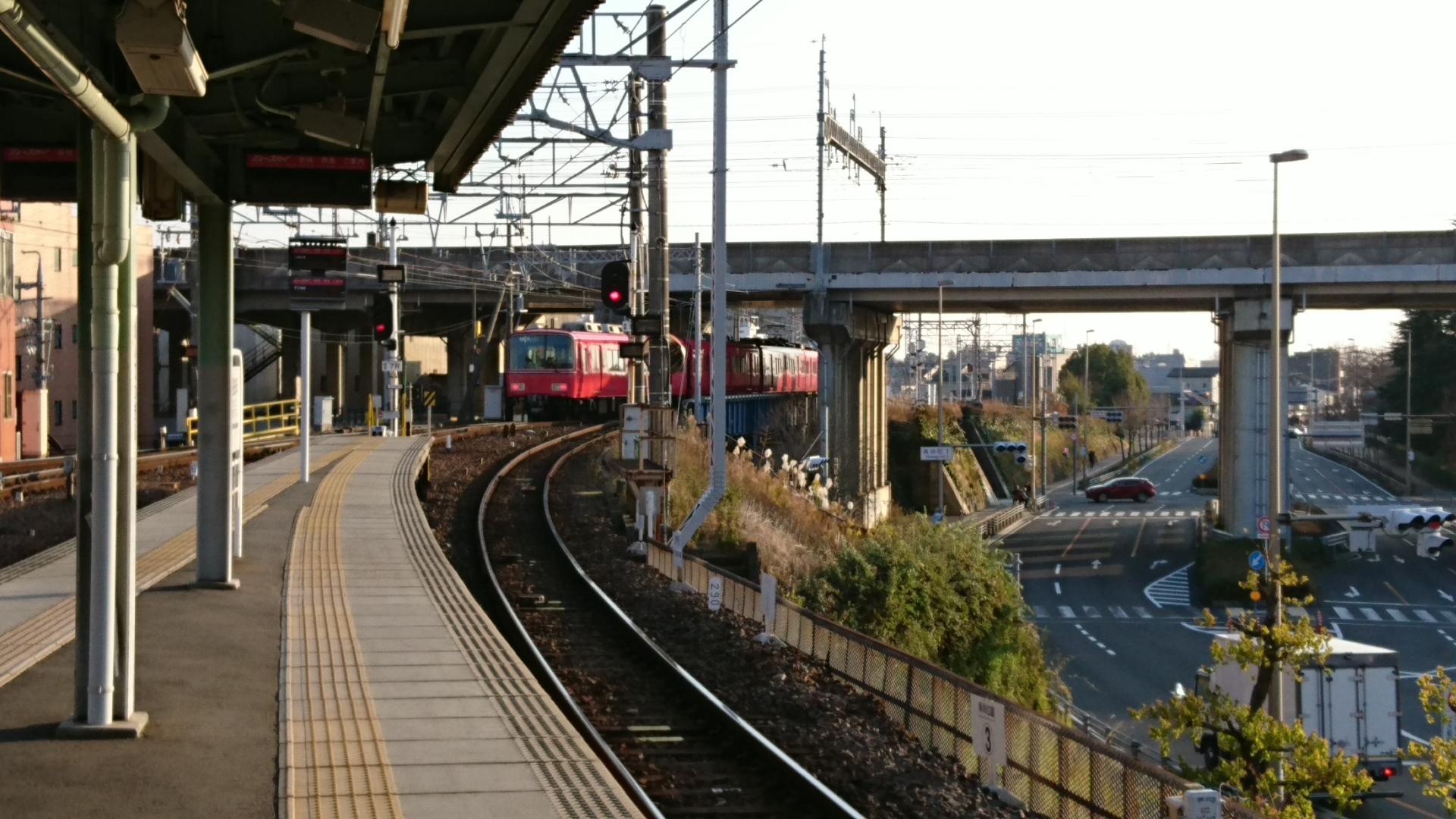 2017.1.3 岐阜から古井まで (5) 岐阜 - 須ヶ口いきふつう 1920-1080