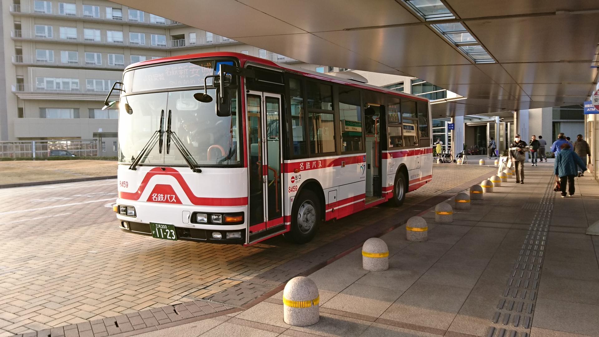 2017.1.4 あさ (3) 更生病院 - 名鉄バス 1920-1080