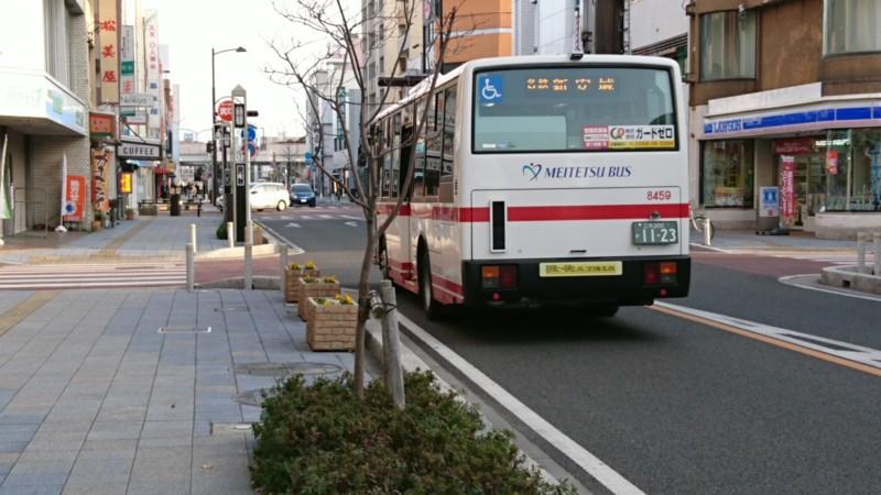 2017.1.4 あさ (5) あんじょうえきまえどおり - 名鉄バス 1920-1080