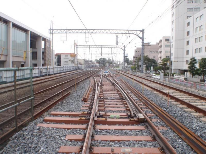 第3工区 (4) 阪神鳴尾駅~武庫川駅:(小松南町2丁目~1丁目付近)