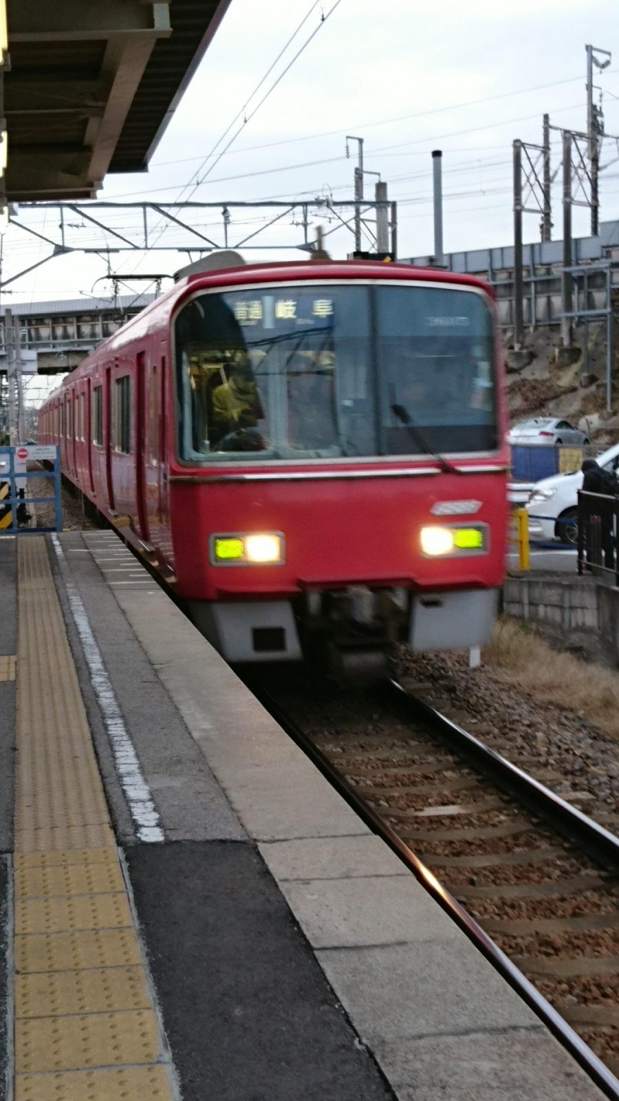 2017.1.6 (1) 古井 - 岐阜いきふつう 900-1600