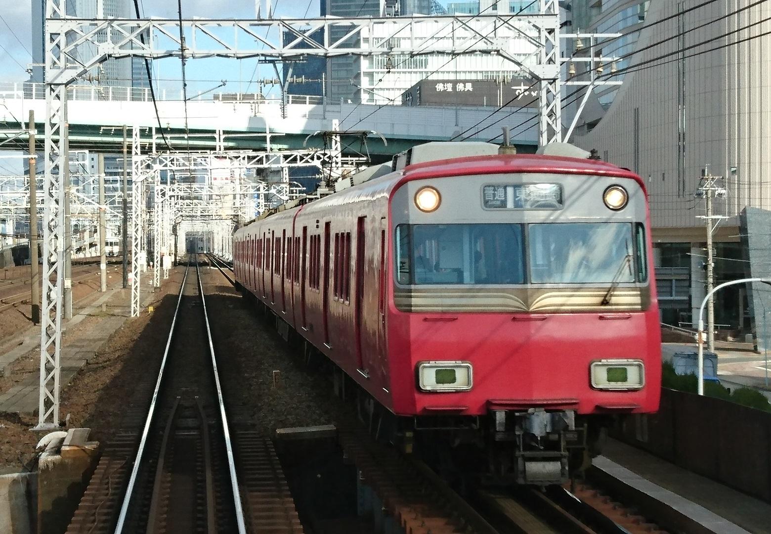 2017.1.12 (44) 岐阜いき特急 - 山王-名古屋間(東岡崎いきふつう)1560-1080