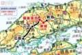 芸備線の路線図(杉山淳一さん)