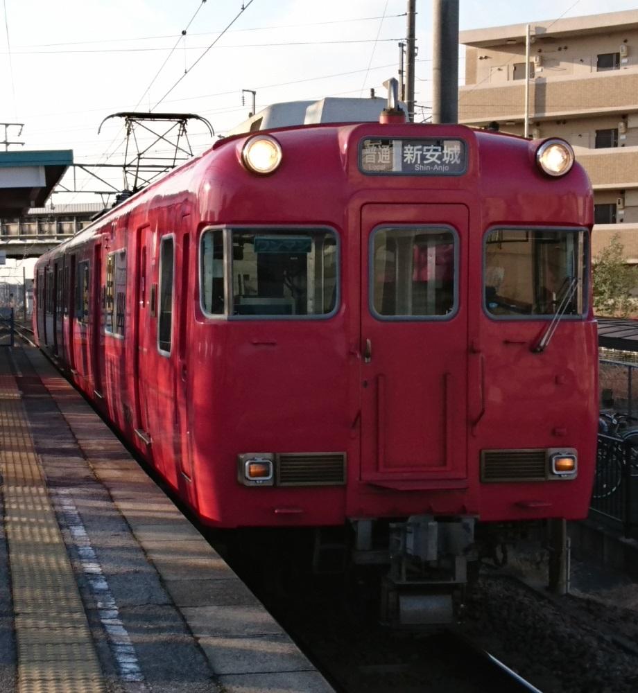 2017.1.13 名古屋まで (1) 古井 - しんあんじょういきふつう 920-1000