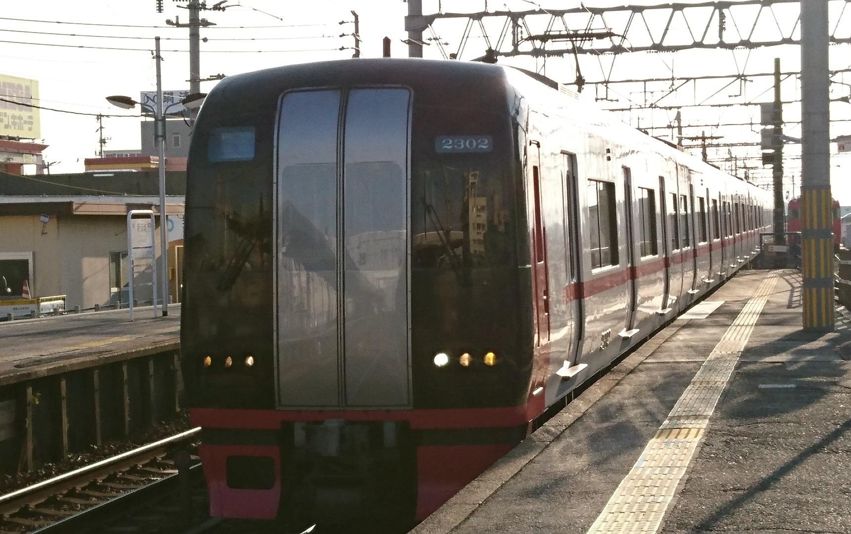 2017.1.13 名古屋まで (6) しんあんじょう - 岐阜いき特急(2302)1720-1080
