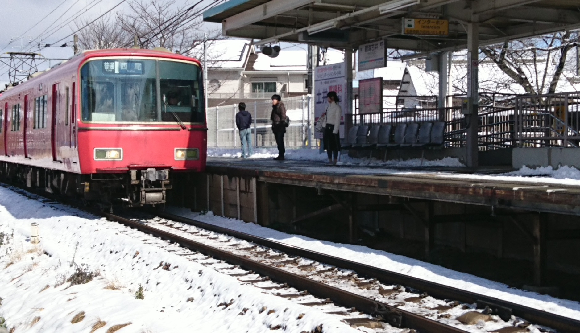 2017.1.15 西尾線 (4) 古井 - 西尾いきふつう 1880-1080