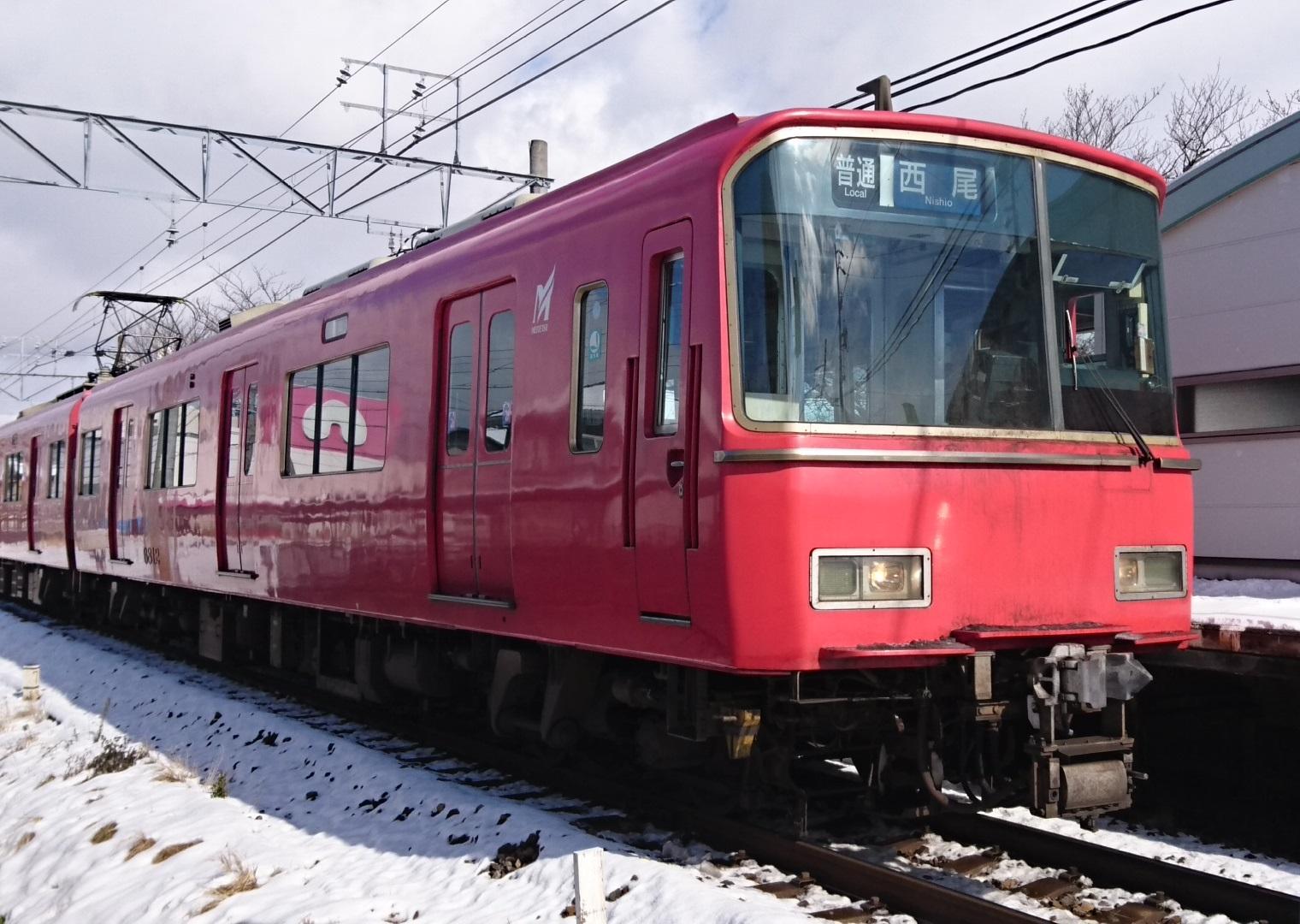 2017.1.15 西尾線 (5) 古井 - 西尾いきふつう 1520-1080