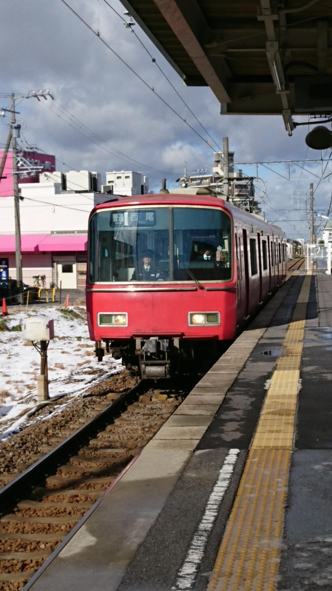 2017.1.15 西尾線 (7) 古井 - 西尾いきふつう 1080-1920