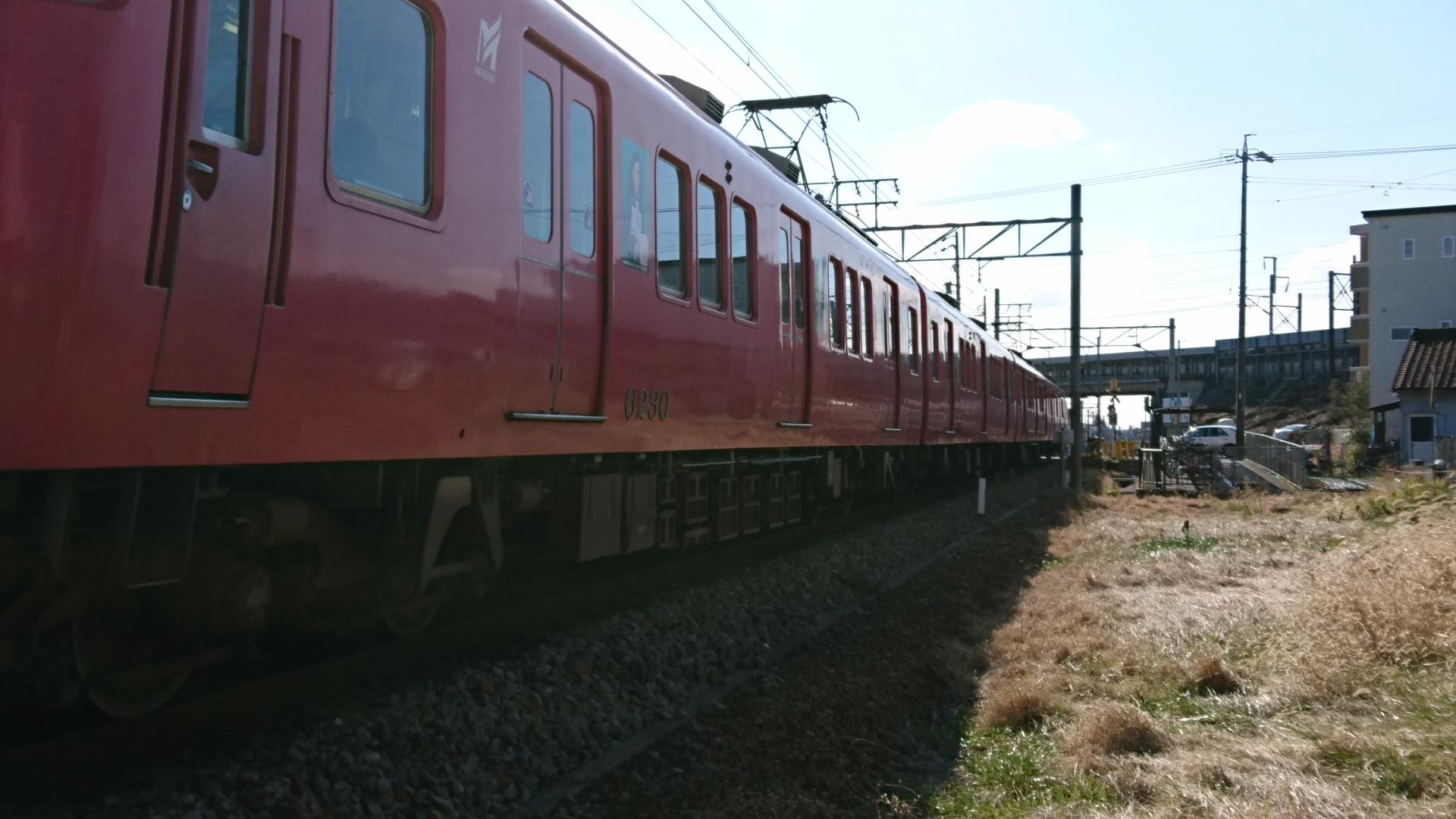 2017.1.21 古井 (1) 佐屋いき急行(6230)