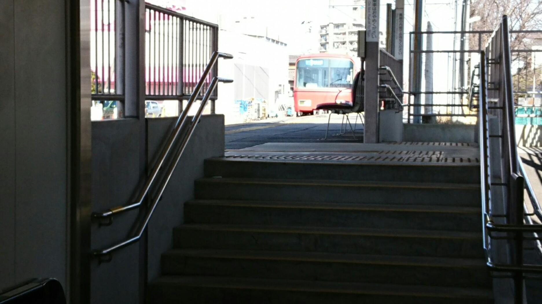 2017.1.21 古井 (6) 吉良吉田いき急行
