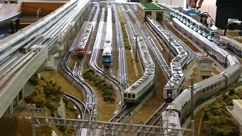 2017.1.21 中部公民館まつり鉄道模型展示運転会 (1)