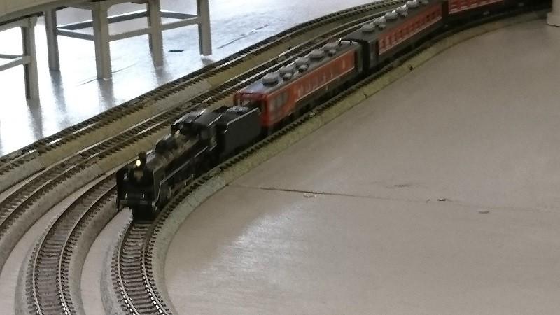 2017.1.21 中部公民館まつり鉄道模型展示運転会 (6) ばんえつものがたり号