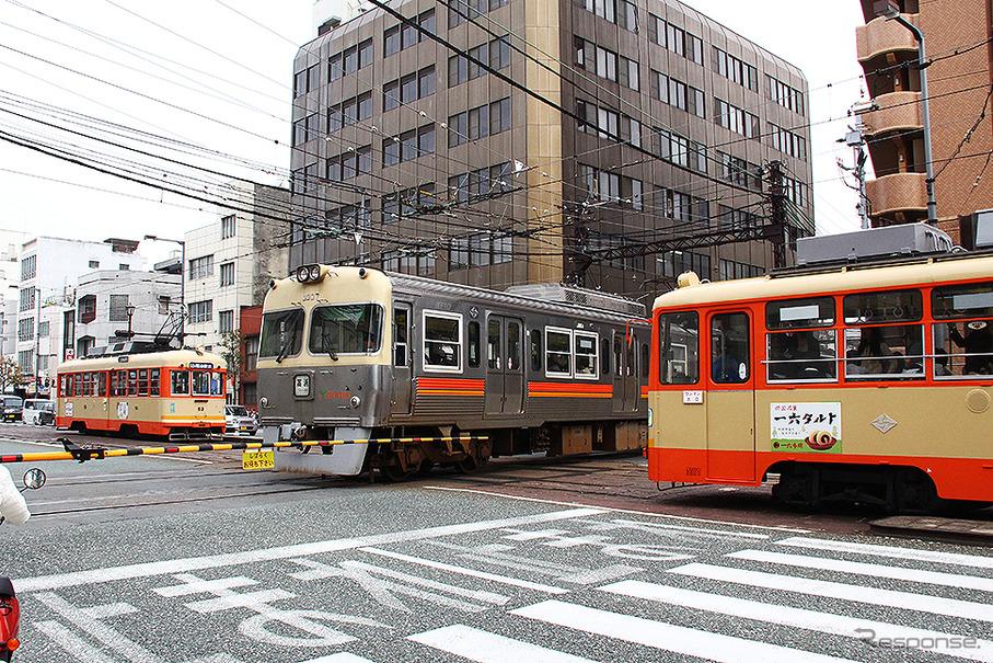 伊予鉄道の平面交差(レスポンス)