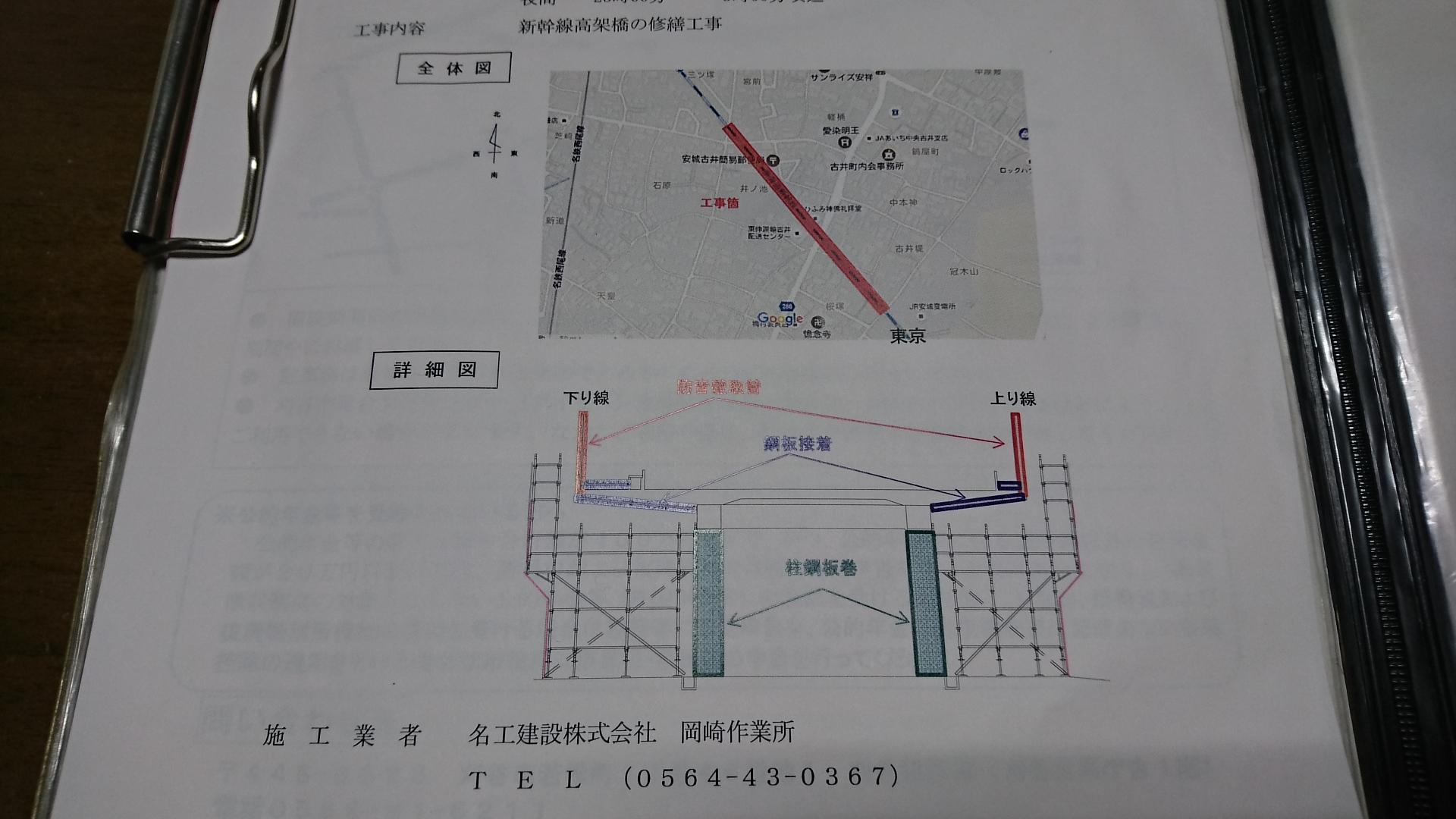 全体図と詳細図