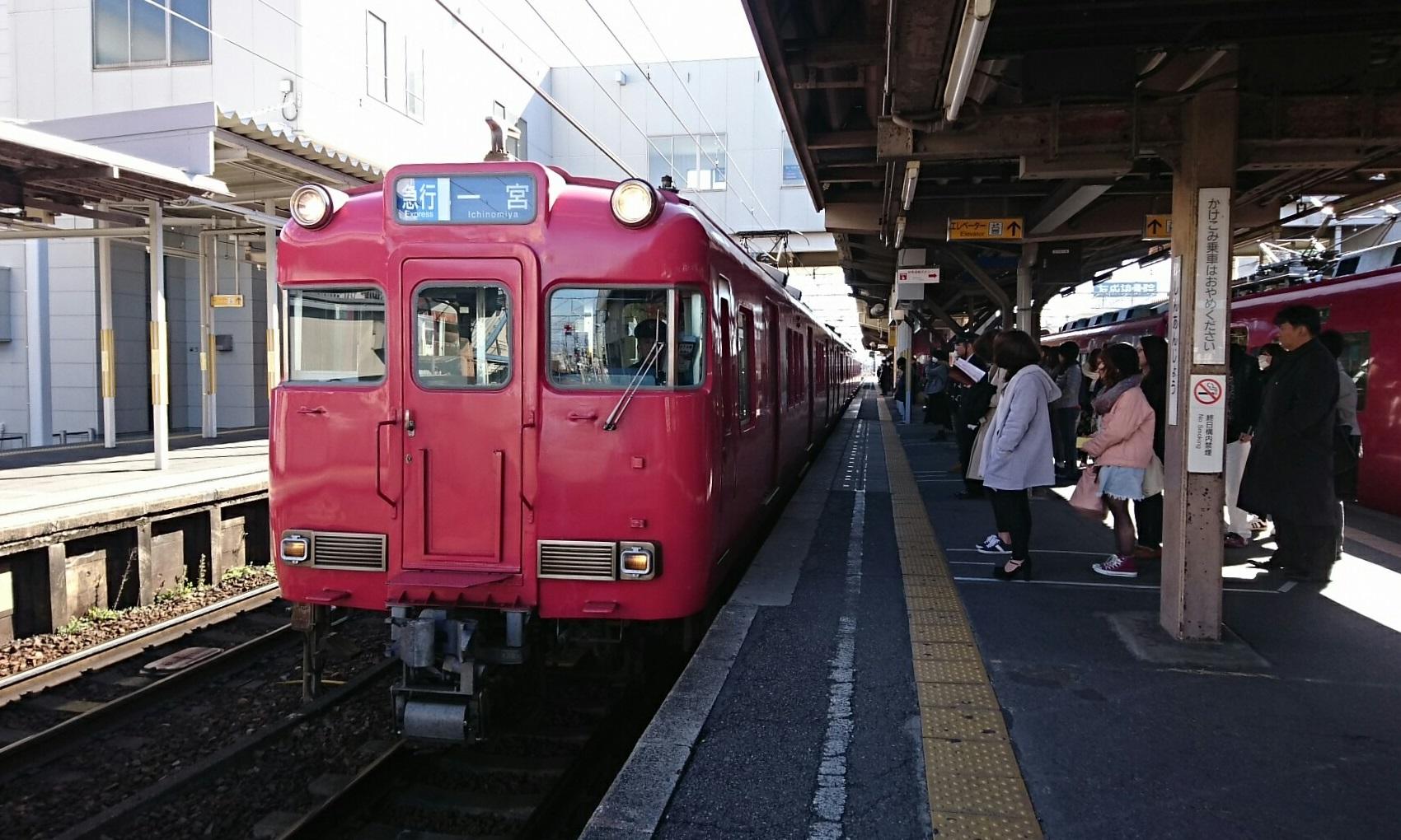 2017.2.2 名鉄 (10) しんあんじょう - 一宮いき急行 1700-1020