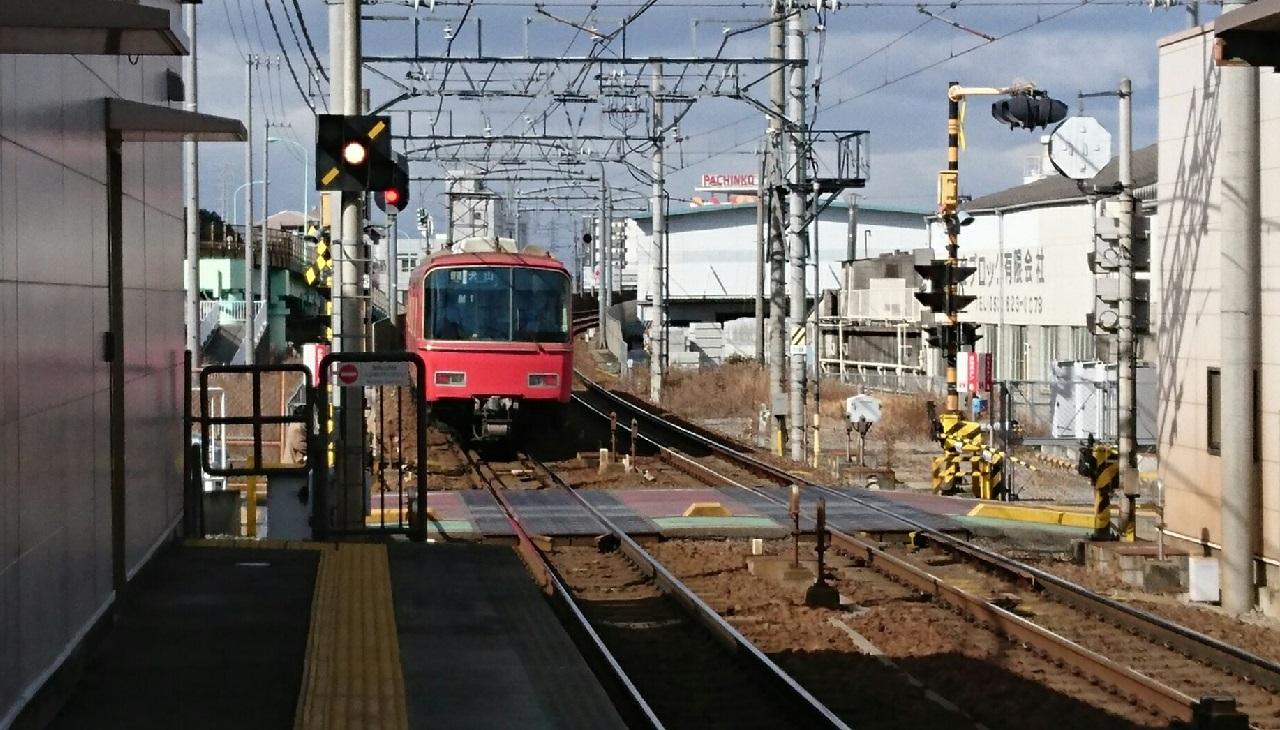 2017.2.2 名鉄 (37) 左京山 - 犬山いきふつう 1280-730