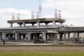 「貨物新幹線計画」遺構(2014年3月、恵知仁さんさつえい)