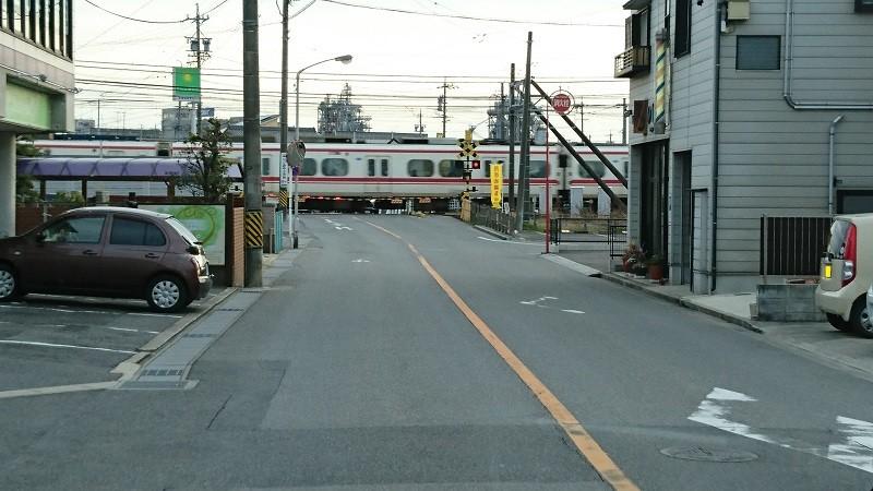 2017.2.8 名鉄バス (17) 北野北口いきバス - 矢作橋駅ひがしふみきり 800-450