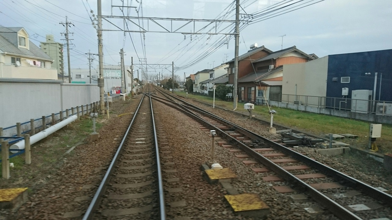 2017.2.8 名鉄バス (24) 坂戸いきバス - 名古屋本線 1280-720
