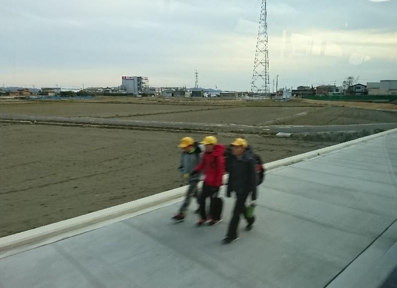 2017.2.8 名鉄バス (25) 坂戸いきバス - 鹿乗川てまえ 800-580