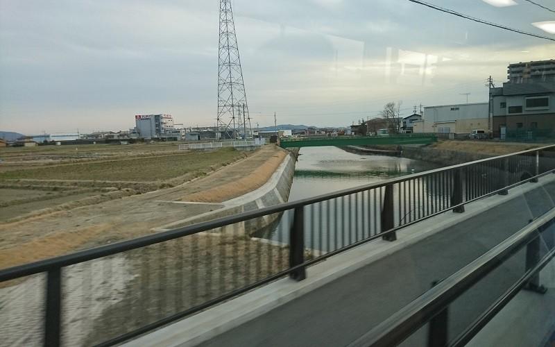 2017.2.8 名鉄バス (26) 坂戸いきバス - 鹿乗川 800-500