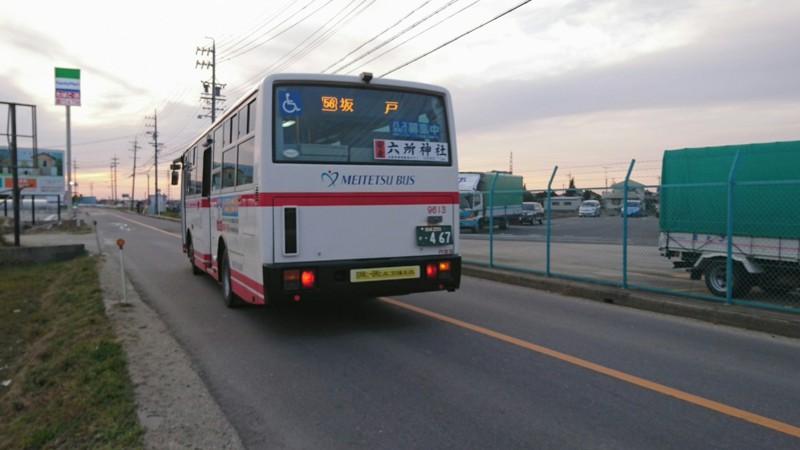 2017.2.8 名鉄バス (33) 坂戸 - 坂戸いきバス 1280-720