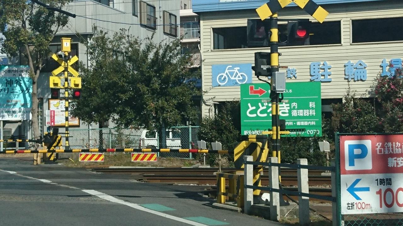 2017.2.10 名古屋本線 (2) しんあんじょう1号ふみきり - さがり電車 1280-720
