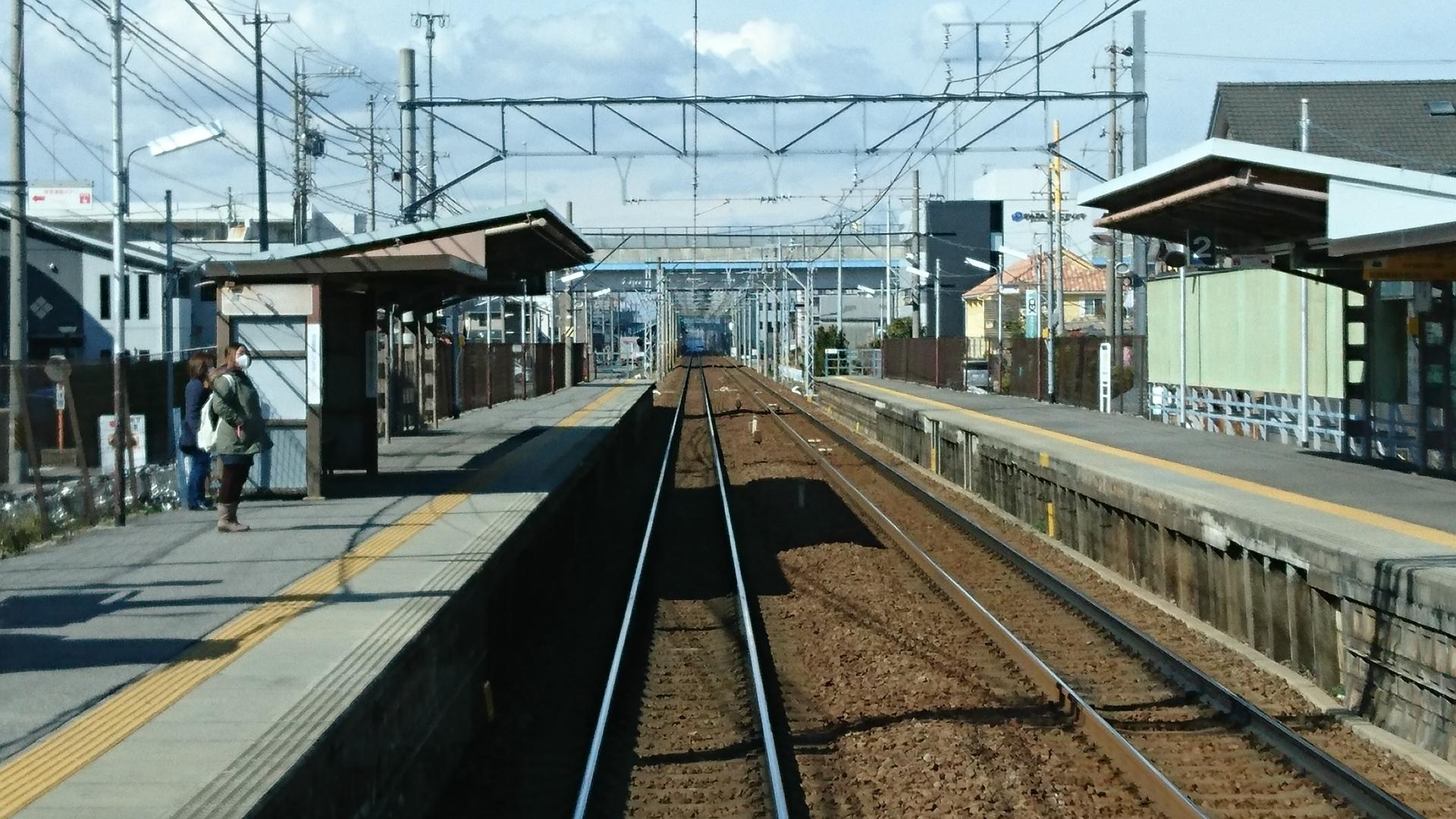 2017.2.10 名古屋本線 (10) 岐阜いき急行 - 牛田 1920-1080