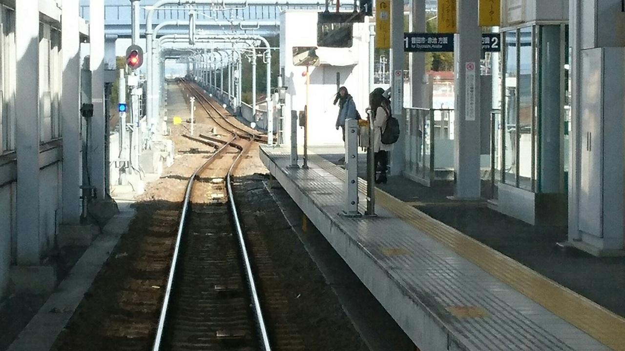 2017.2.10 三河線 (12) 猿投いきふつう - 三河八橋 1280-720